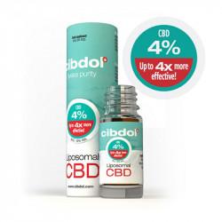 Huile CBD Liposomale 4 % -...