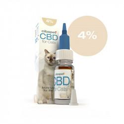 Huile CBD 4 % pour chats -...