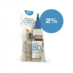 Huile CBD 2 % pour chats -...