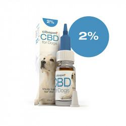 Huile CBD 2 % pour chiens -...